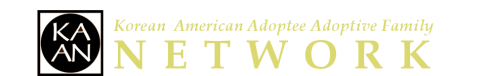 KAAN (the Korean American Adoptee Adoptive Family Network) logo