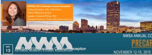 Header for the Facebook invite re: the NWSA Graduate Caucus